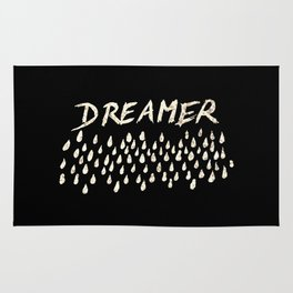 DREAMER #1 #typo #drawing #decor #art #society6 Rug