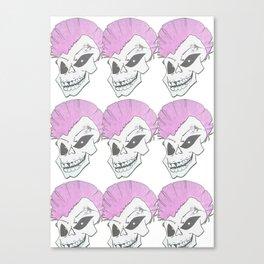 SkullHeads Canvas Print