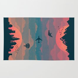 Sunrise / Sunset (alternate) Rug