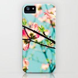 Aqua Spring iPhone Case