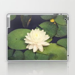 Peaceful Water Lily Laptop & iPad Skin