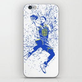 WARRIORS Curry iPhone Skin