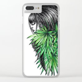 GIRLZ - PALM Clear iPhone Case
