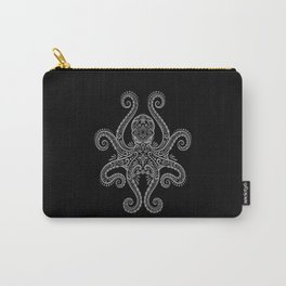 Intricate Dark Octopus Carry-All Pouch