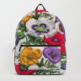 Colorful poppies Backpack