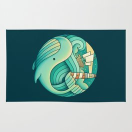 Into the Ocean Rug