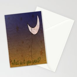 Lasso the Moon Stationery Cards