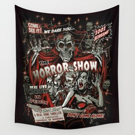 The Horror Show Wall Tapestry