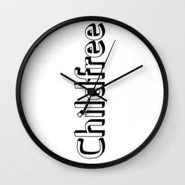 Childfree Wall Clock