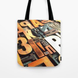 3B - Typography Photography™ Tote Bag