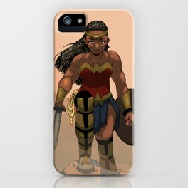 Through the Settling Dust iPhone Case