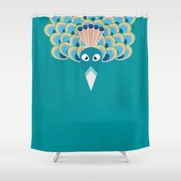 Paon Shower Curtain