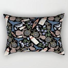 Acadia Pattern 2 Rectangular Pillow