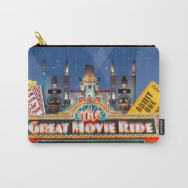 The Great Movie Ride Carry-All Pouch