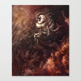Star Eater Dark Canvas Print