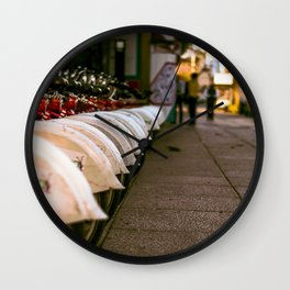 City on Wheels Wall Clock