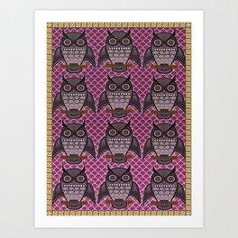 Owls for Owls sake Art Print