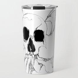 Skull tree Travel Mug