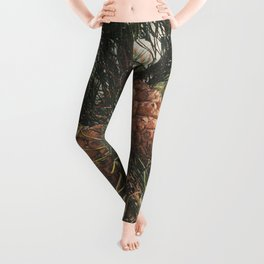 STOP AND SMELL THE PINE TREES Leggings