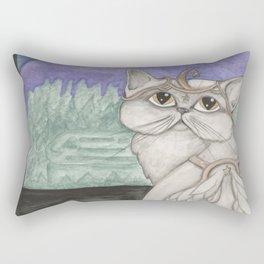 Angel Cat Rectangular Pillow