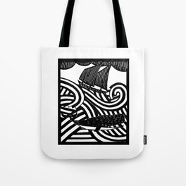 Herman - Paper Cut Illustration. 2015 Tote Bag