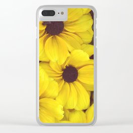 The yellow flowers Clear iPhone Case