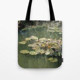 Lotus Pond 2 Tote Bag
