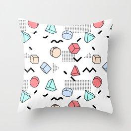 Explosion Menphis Throw Pillow