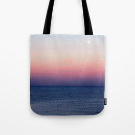 Indigo Horizon Tote Bag