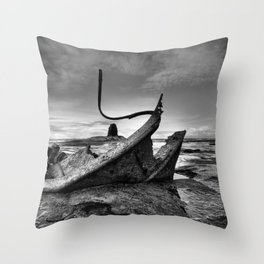 Admiral Von Tromp At Black Nab Throw Pillow