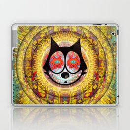 Felix The Cat Trip Laptop & iPad Skin