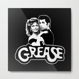 Grease logo-Movie-Music-Dance Metal Print