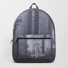 Explore the unseen mystic misty woods adventure Backpack