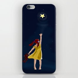 Reaching for the stars iPhone Skin