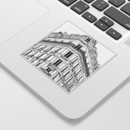 Parisian Facade Sticker