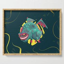 Kandy the Toxic Dragon Serving Tray