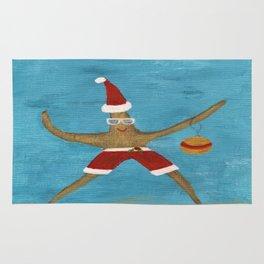 Christmas Starfish Rug