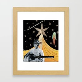 """""""The End is The Beginning""""  Framed Art Print"""