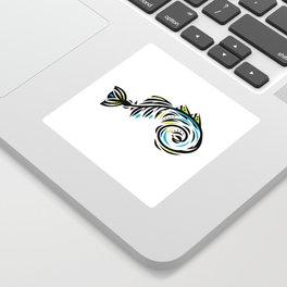 Bone Fishish 4C Sticker