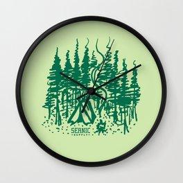 Campsite Wall Clock