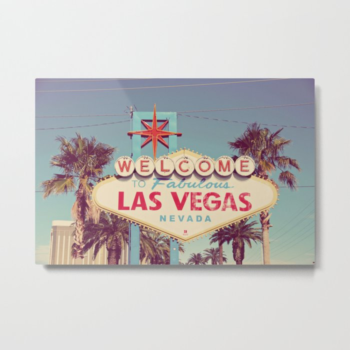 Welcome to fabulous Las Vegas Metal Print