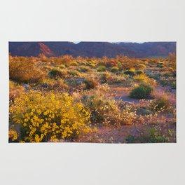 Wildflower Meadow at Joshua Tree National Park Rug