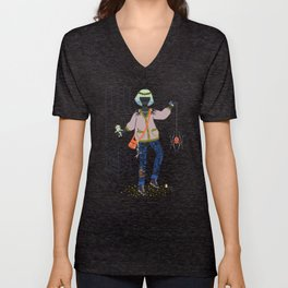 Witch Series: Voodoo Doll Unisex V-Neck