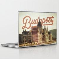budapest Laptop & iPad Skins featuring Budapest by Amigo Vic