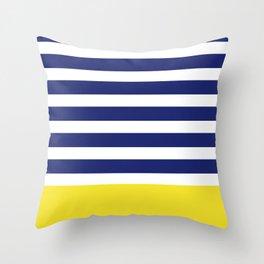 Nautical Neon Throw Pillow
