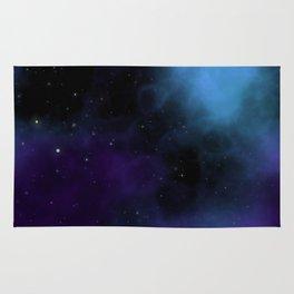 Starfield Nebula Space Expanse Rug