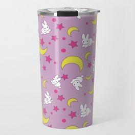 Usagi's Pattern Old Style Travel Mug