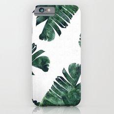 Banana Leaf Watercolor #society6 #buy #decor Slim Case iPhone 6