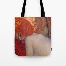 Gustav Klimt, Goldfish, (detail) 1901-1902 Tote Bag