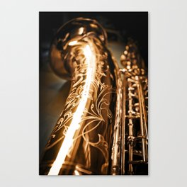 Tenor Saxophone - MIDQ01 Canvas Print